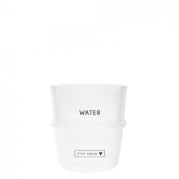 Bastion Collections Glas / WATER -STAY FRESH