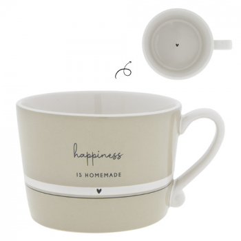 Bastion Collections Tasse / HAPPINESS IS HOMEMADE